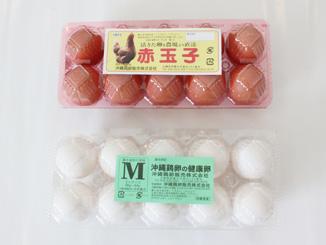 赤玉子 沖縄鶏卵の健康卵